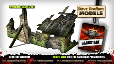 Ruined Wall Free for Backstage Pass Holders