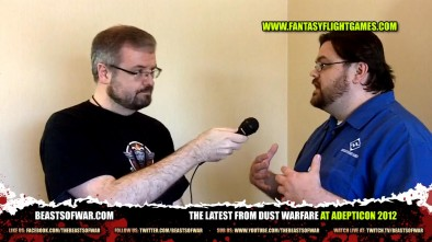 The Latest from DUST Warfare at Adepticon 2012