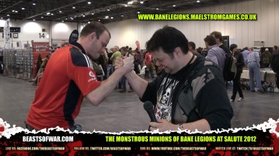 The Monstrous Minions of Bane Legions at Salute 2012