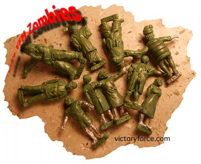 zombies 28mm zombies VFM victory force