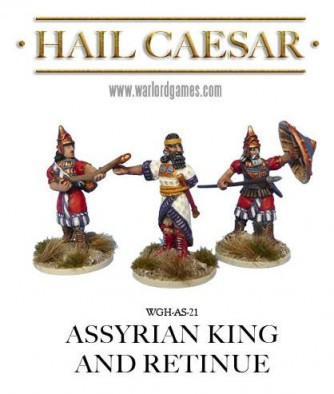 Warlord - Assyrian King and Retinue