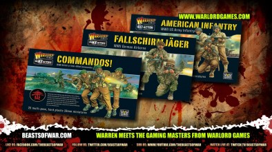 Warren Meets the Gaming Masters from Warlord Games