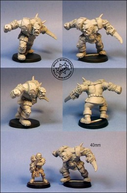 Willy-Miniatures Ogre Star Player