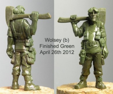 Wolsey Finished Green