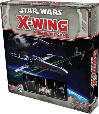 X-Wing Miniatures Game Box Art