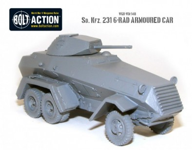 sd kfz 231 6-rad Armoured Car