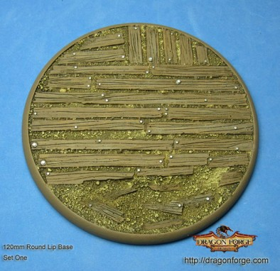 120mm Trench Board Round Lip Base