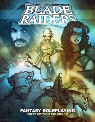Blade Raiders Cover Art