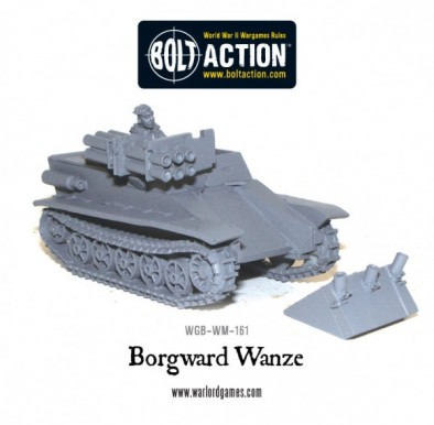 Bolt Action - Borgward Wanze 2