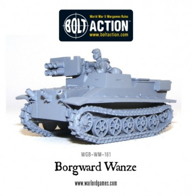 Bolt Action - Borgward Wanze