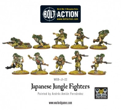 Bolt Action - Japanese Jungle Fighters