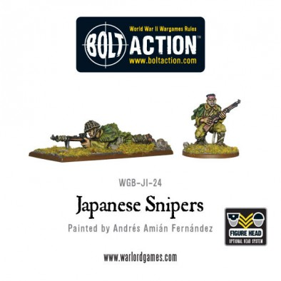 Bolt Action - Japanese Snipers