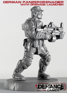 Defiance Games - Panzergrenadier with Grenade Launcher
