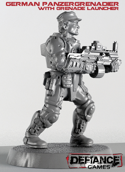 Defiance Arm Their Panzergrenadier With a Grenade Launcher