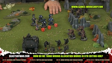 How Do We Think Wound Allocation Works in 6th Edition 40k?