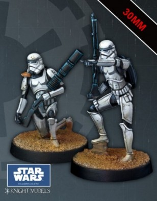 Knight Models - Sand Troopers