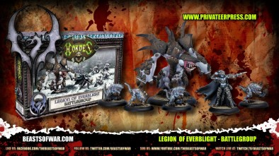 New Hordes Starter Sets: Legion of Everblight