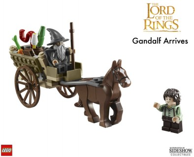 Lego Gandalf Arrives Contents