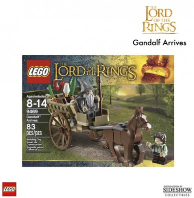 Lego Gandalf Arrives Box