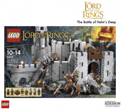 Lego Helm's Deep Box