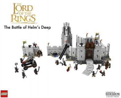 Lego Helm's Deep Contents