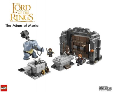 Lego Mines of Moria Contents