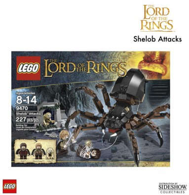 Lego Shelob Attacks Box
