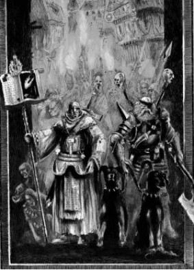 Mordheim - Witch Hunter and Priest