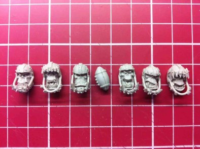 Orc Football Player Heads