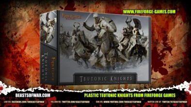 Plastic Teutonic Knights from Fireforge Games