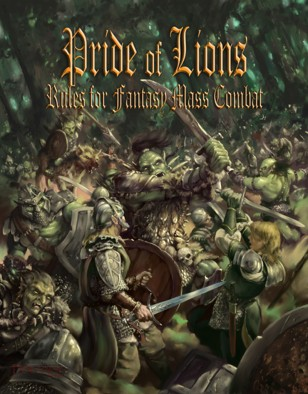 Pride of Lions 2nd Edition Cover