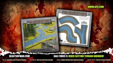 Gale Force 9: River Section Terrain Unboxed!