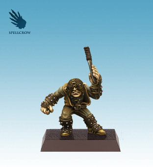Spellcrow Halfling with Knife