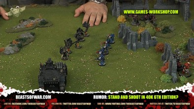 Rumor: Stand and Shoot in 40k 6th Edition?