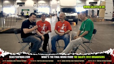 What's the Final Word from the Salute 2012 Organisers