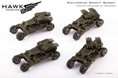 Wolverine Scout Buggy - United Colonies of Mankind