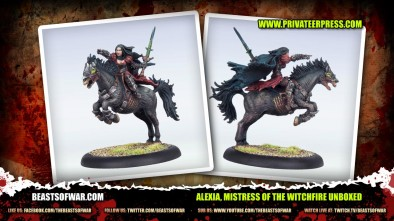 Alexia, Mistress of the Witchfire Unboxed