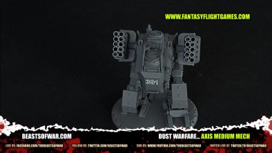 DUST Warfare... Axis Medium Mech