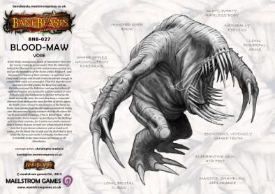 Blood-Maw Concept Art