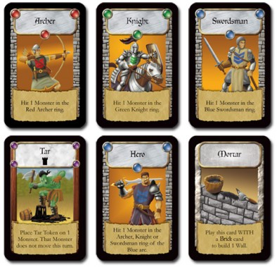 Castle Panic Player Cards