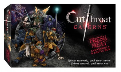 Cutthroat Caverns: Fresh Meat Box (Front)