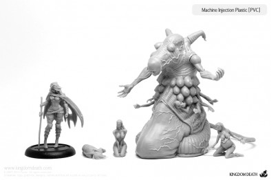 Kingdom Death - Experiment of Death Miniatures