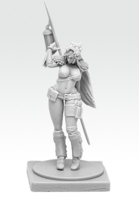 Kingdom Death - Pinup Survivor