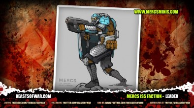 MERCS ISS Faction -  leader