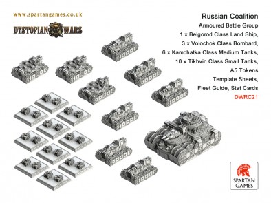 Russian Coalition - Armoured Battle Group