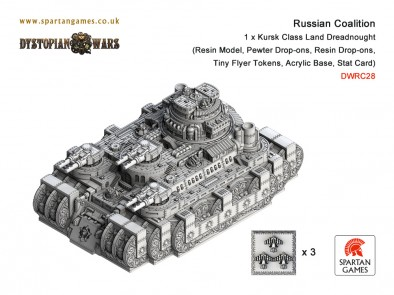 Russian Coalition - Kursk Class Land Dreadnought