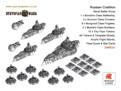 Russian Coalition - Naval Battle Group