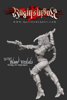 Sci-Fi Blood Vestal #1
