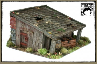 Stronghold Terrain - Old Shed