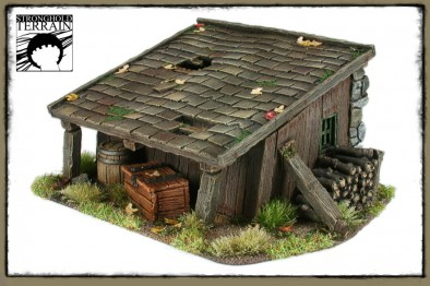 Stronghold Terrain - Old Shed Back